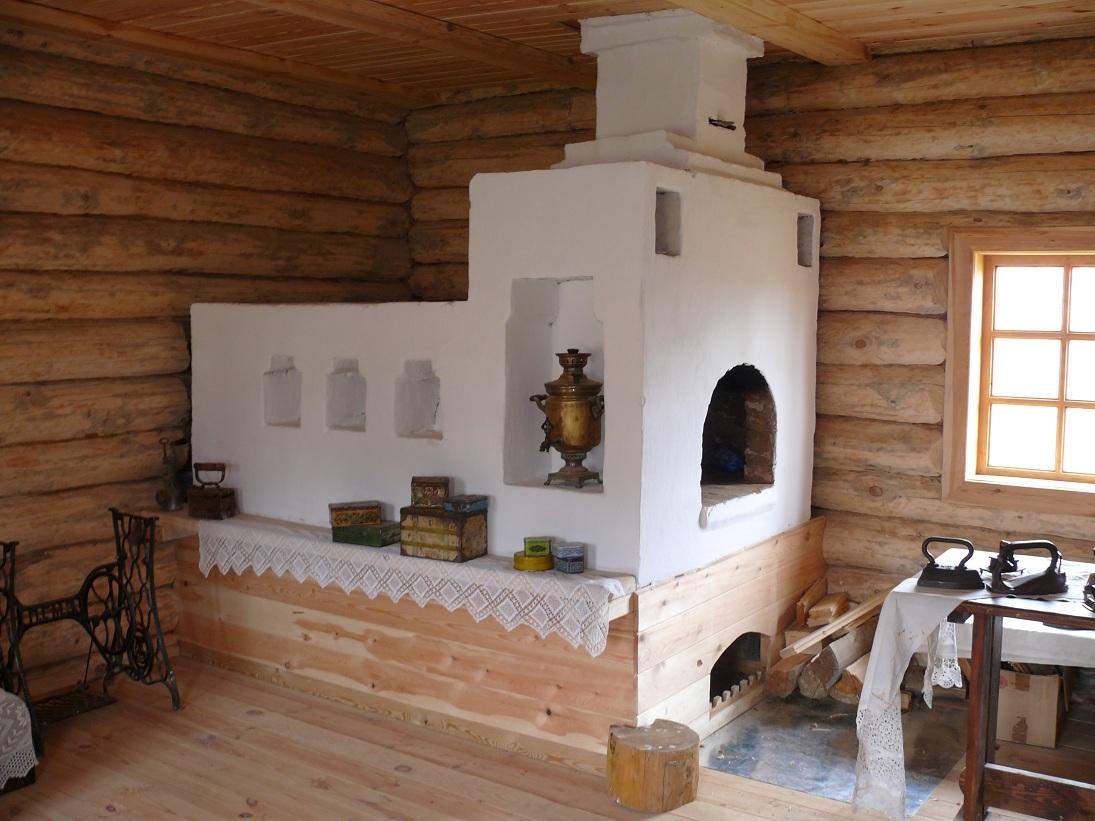 Как построить печь в доме видео и разместить колодцы 108